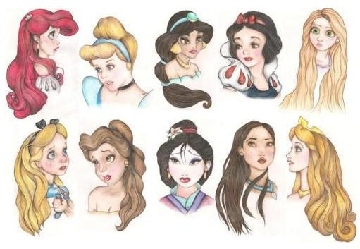10 Gorgeous Disney Princess Inspired Hairstyles Hairstyle Beauties